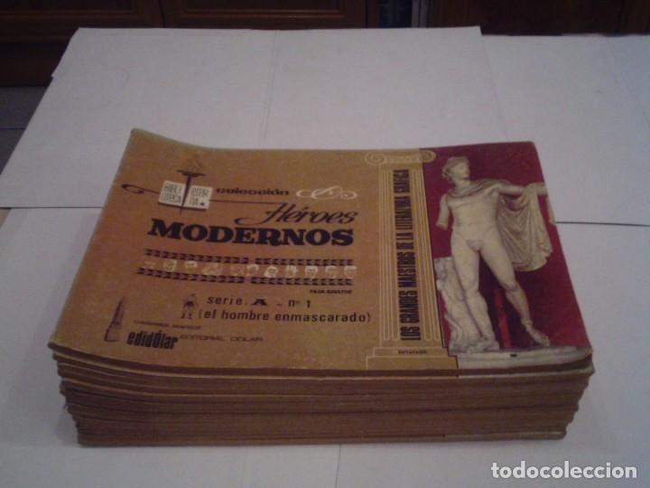 HEROES MODERNOS SERIE A - HOMBRE ENMASCARADO - COL COMPLETA - 15 CUADERNOS - BE - GORBAUD - CJ 104 (Tebeos y Comics - Dólar)