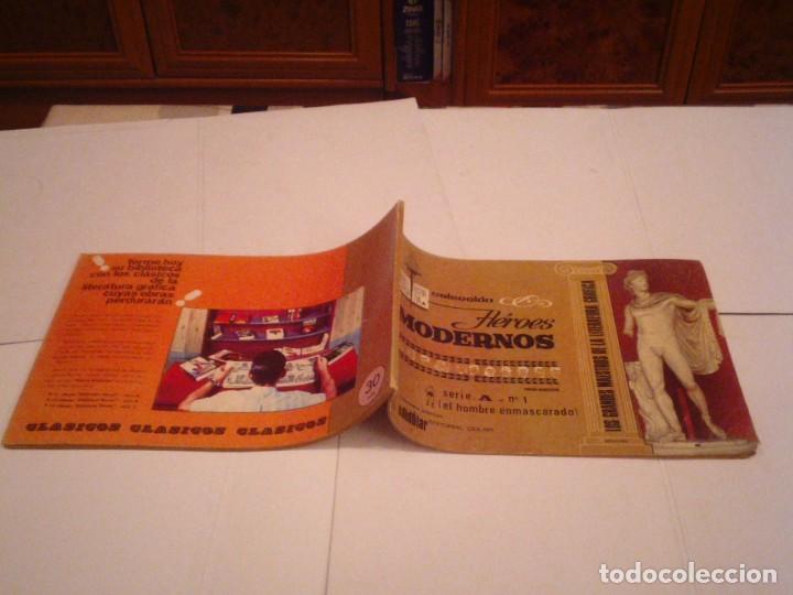Tebeos: HEROES MODERNOS SERIE A - HOMBRE ENMASCARADO - COL COMPLETA - 15 CUADERNOS - BE - GORBAUD - CJ 104 - Foto 6 - 158594982
