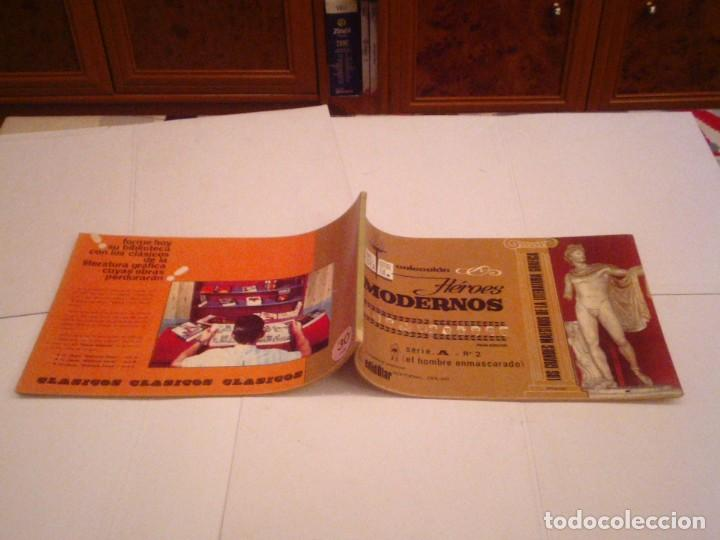Tebeos: HEROES MODERNOS SERIE A - HOMBRE ENMASCARADO - COL COMPLETA - 15 CUADERNOS - BE - GORBAUD - CJ 104 - Foto 7 - 158594982