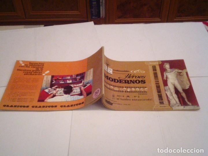 Tebeos: HEROES MODERNOS SERIE A - HOMBRE ENMASCARADO - COL COMPLETA - 15 CUADERNOS - BE - GORBAUD - CJ 104 - Foto 8 - 158594982