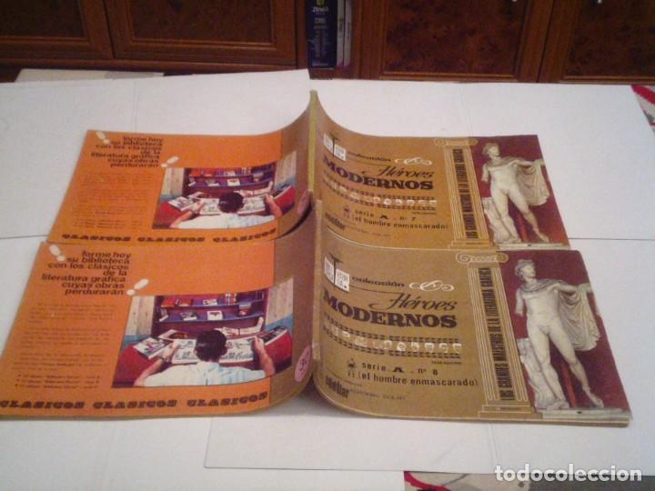 Tebeos: HEROES MODERNOS SERIE A - HOMBRE ENMASCARADO - COL COMPLETA - 15 CUADERNOS - BE - GORBAUD - CJ 104 - Foto 11 - 158594982