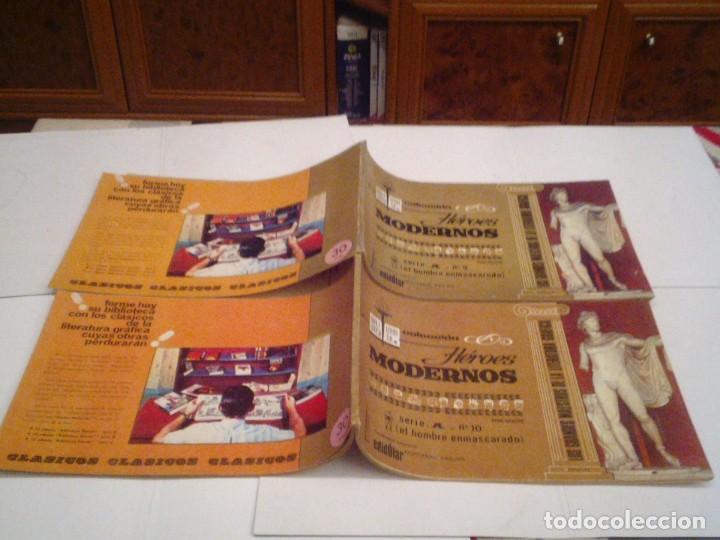 Tebeos: HEROES MODERNOS SERIE A - HOMBRE ENMASCARADO - COL COMPLETA - 15 CUADERNOS - BE - GORBAUD - CJ 104 - Foto 12 - 158594982