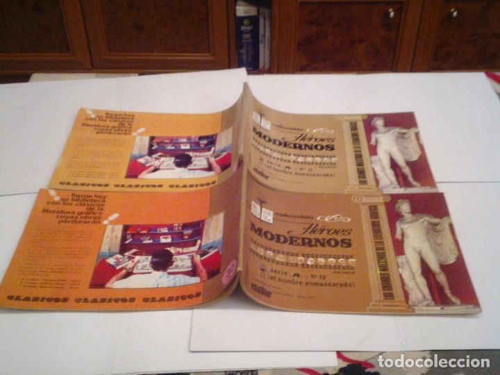 Tebeos: HEROES MODERNOS SERIE A - HOMBRE ENMASCARADO - COL COMPLETA - 15 CUADERNOS - BE - GORBAUD - CJ 104 - Foto 13 - 158594982