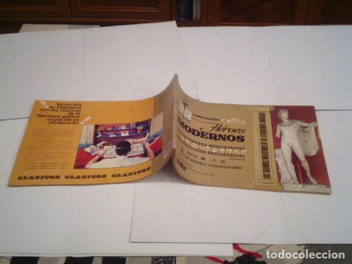 Tebeos: HEROES MODERNOS SERIE A - HOMBRE ENMASCARADO - COL COMPLETA - 15 CUADERNOS - BE - GORBAUD - CJ 104 - Foto 15 - 158594982