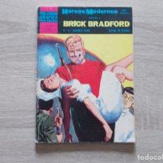 Tebeos: HEROES MODERNOS BRICK BRADFORD Nº 8. DOLAR. Lote 160579906