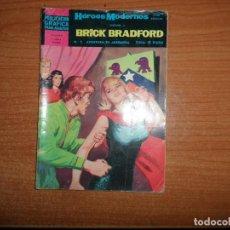 Tebeos: HEROES MODERNOS Nº 7 II EPOCA BRICK BRADFORD EDITORIAL DOLAR . Lote 160629822