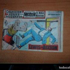 Tebeos: MERLIN EL MAGO MODERNO ( MANDRAKE ) Nº 4 COLECCION HEROES MODERNOS EDITORIAL DOLAR . Lote 160896538