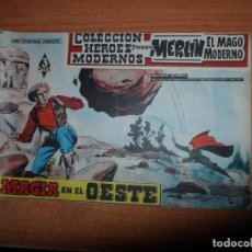 Tebeos: MERLIN EL MAGO MODERNO ( MANDRAKE ) Nº 2 COLECCION HEROES MODERNOS EDITORIAL DOLAR . Lote 160896558