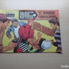 Livros de Banda Desenhada: COLECCIÓN HEROES MODERNOS SERIE A Nº 66, EL HOMBRE ENMASCARADO, EDITORIAL DÓLAR. Lote 161700346