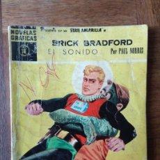 Giornalini: BRICK BRADFORD, EL SONIDO - NOVELAS GRAFICAS SERIE AMARILLA Nº 38 EDITORIAL DOLAR- . Lote 165345738