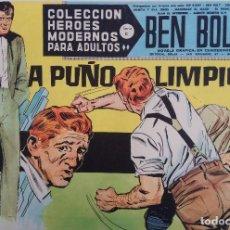 Tebeos: COLECCIÓN HEROES MODERNOS Nº 43 - BEN BOLT SERIE C - A PUÑO LIMPIO. Lote 166113370
