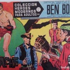 Tebeos: COLECCIÓN HEROES MODERNOS Nº 48 - BEN BOLT SERIE C - EL APACHE. Lote 166113678