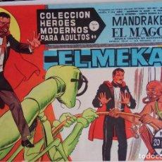 Tebeos: COLECCIÓN HEROES MODERNOS Nº 71 - MANDRAKE EL MAGO - SERIE C - EL MEKAX. Lote 166115314