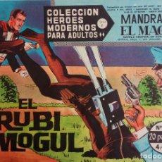 Tebeos: COLECCIÓN HEROES MODERNOS Nº 75 - MANDRAKE EL MAGO - SERIE C - EL RUBI MOGUL. Lote 166115986