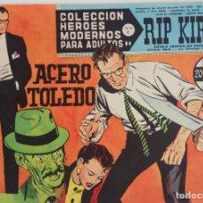 Tebeos: COLECCIÓN HEROES MODERNOS Nº 42 - RIP KIRBY - SERIE C - ACERO TOLEDO. Lote 166118126