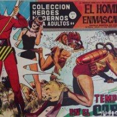 Tebeos: COLECCIÓN HEROES MODERNOS Nº 58 - EL HOMBRE ENMASCARADO - SERIE A - TEMPESTAD EN EL CARIBE. Lote 166124910