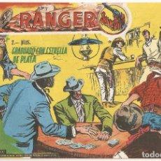 Tebeos: RANGER JUVENIL Nº 13 TEBEO ORIGINAL 1958 GRADUADO CON ESTRELLA DE PLATA DOLAR ESCASO RARO DIFÍCIL !!. Lote 168784380
