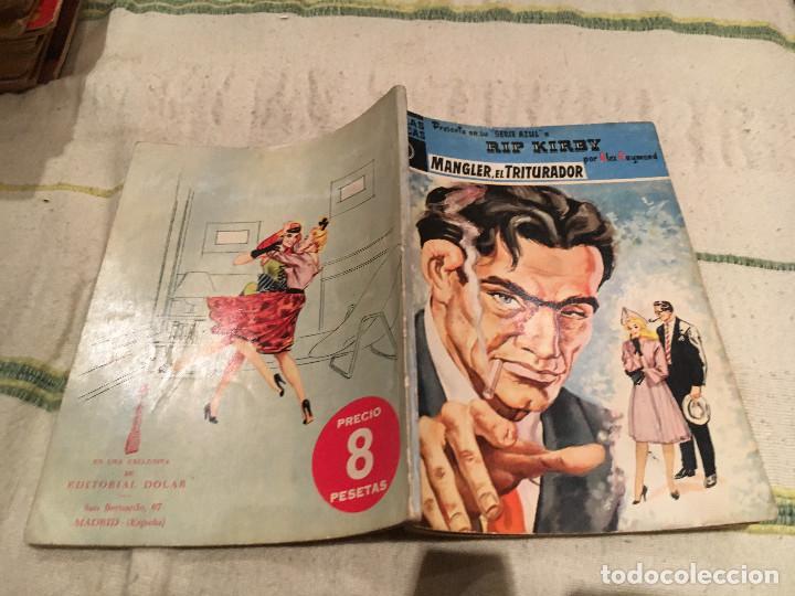 RIP KIRBY - MANGLER EL TRITURADOR - SERIE AZUL, Nº2 - POR ALEX RAYMOND - 1958 (Tebeos y Comics - Dólar)