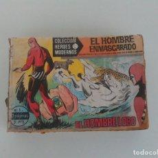 Tebeos: COMIC EL HOMBRE ENMASCARADO. COLECCION HEROES MODERNOS. INCLUYE DEL Nº1 AL 50. SERIE A. 1958.. Lote 170143500