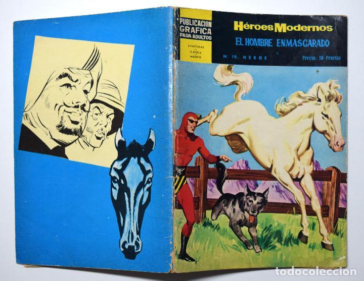 HÉROES MODERNOS Nº 19 - EL HOMBRE ENMASCARADO - AÑO 1960 (Tebeos y Comics - Dólar)
