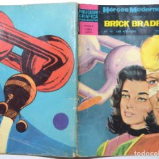 Tebeos: HÉROES MODERNOS Nº 16 - BRICK BRADFORD - AÑO 1960. Lote 170522984