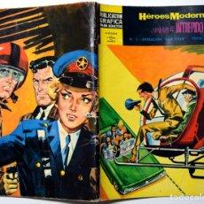 Tebeos: HÉROES MODERNOS Nº 7 - JUAN EL INTRÉPIDO - OPERACIÓN SAN VITOS - AÑO 1960. Lote 170523200
