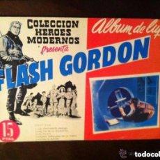 Tebeos: FLASH GORDON - ALBUM LUJO Nº. 1 - EXTRAORDINARIA CONSERVACIÓN. Lote 171435573