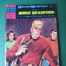 Tebeos: BRICK BRADFORD (1966, DOLAR) 14 · 1967 · EL TESORO DE TOOLE TOOEE. Lote 171440738
