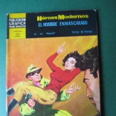 Tebeos: NOVELAS GRAFICAS (1966, DOLAR) -II EPOCA- 34 · 11-VII-1967 · HOMBRE ENMASCARADO. Lote 171453117