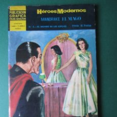 Tebeos: NOVELAS GRAFICAS (1966, DOLAR) -II EPOCA- 3 · 6-XII-1966 · MANDRAKE EL MAGO. Lote 171453294