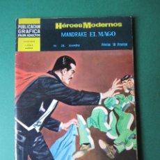 Tebeos: NOVELAS GRAFICAS (1966, DOLAR) -II EPOCA- 23 · 25-IV-1967 · MANDRAKE EL MAGO. Lote 171538328