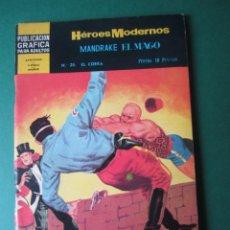 Tebeos: NOVELAS GRAFICAS (1966, DOLAR) -II EPOCA- 29 · 6-VI-1967 · MANDRAKE EL MAGO. Lote 171539024