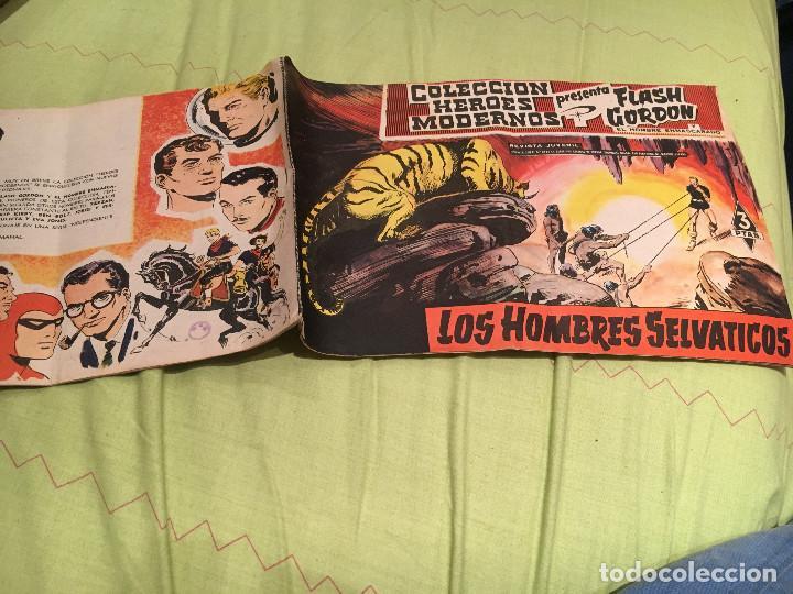 COLECCIÓN HEROES MODERNOS PRESENTA FLASH GORDON Nº 011,EDITORIAL DÓLAR 1958 (Tebeos y Comics - Dólar)