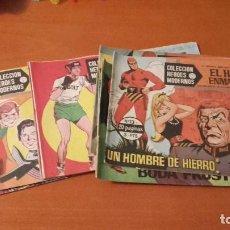 Tebeos: COLECCIÓN HÉROES MODERNOS EDITORIAL DOLAR LOTE DE 10 Nº.. Lote 172097620