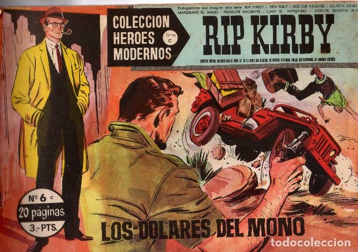 RIP KIRBY DOLAR Nº 6 (Tebeos y Comics - Dólar)