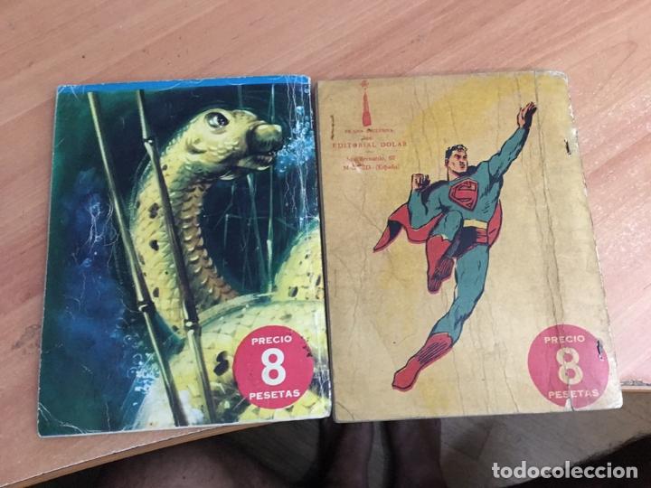 Tebeos: SUPERMAN LOTE Nº 6 Y 10 (ORIGINAL DOLAR) (COIB26) - Foto 3 - 173940724