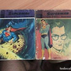 Tebeos: SUPERMAN LOTE Nº 6 Y 10 (ORIGINAL DOLAR) (COIB26). Lote 173940724