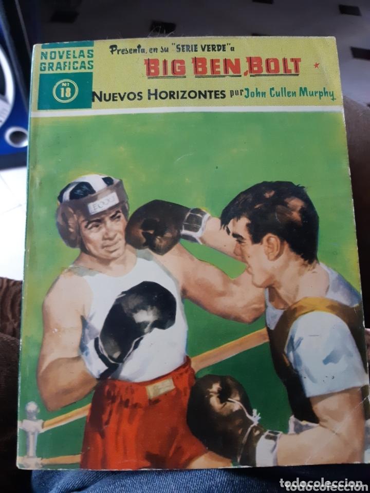 TEBEOS-CÓMICS CANDY - BIG BEN BOLT 18 - DÓLAR 1959 - AA99* (Tebeos y Comics - Dólar)