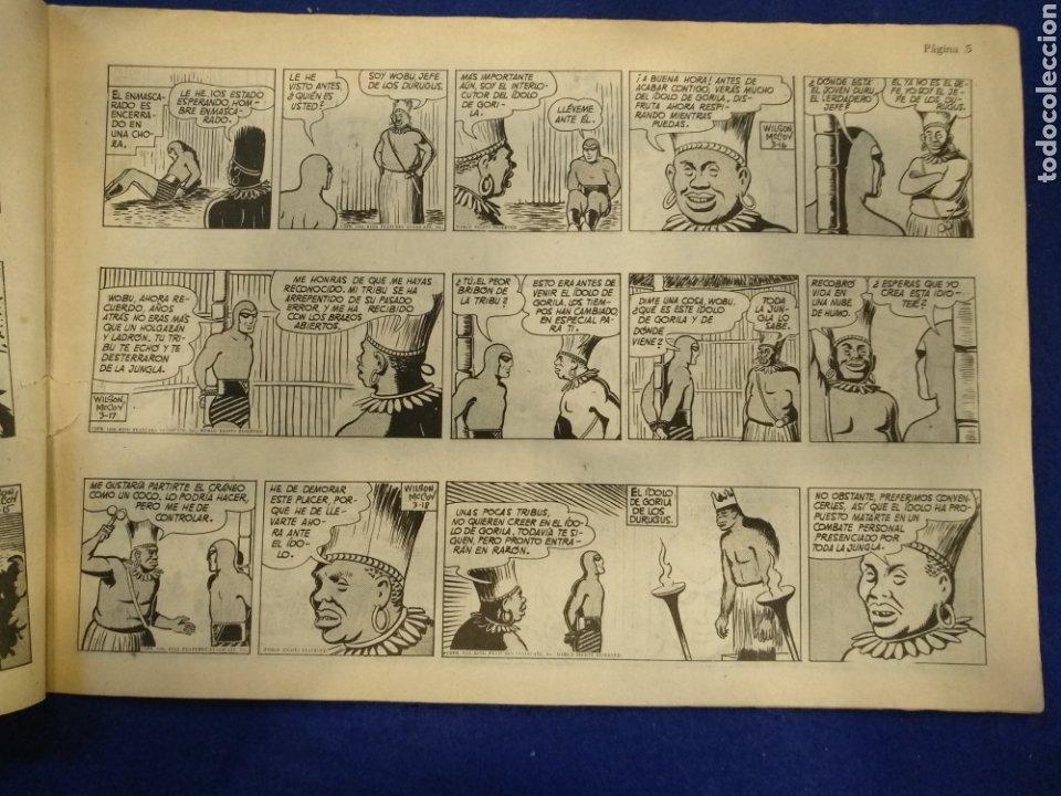 Tebeos: Colección héroes modernos, el hombre enmascarado, n°26. 1958 - Foto 3 - 176582724