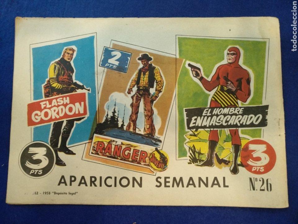 Tebeos: Colección héroes modernos, el hombre enmascarado, n°26. 1958 - Foto 5 - 176582724