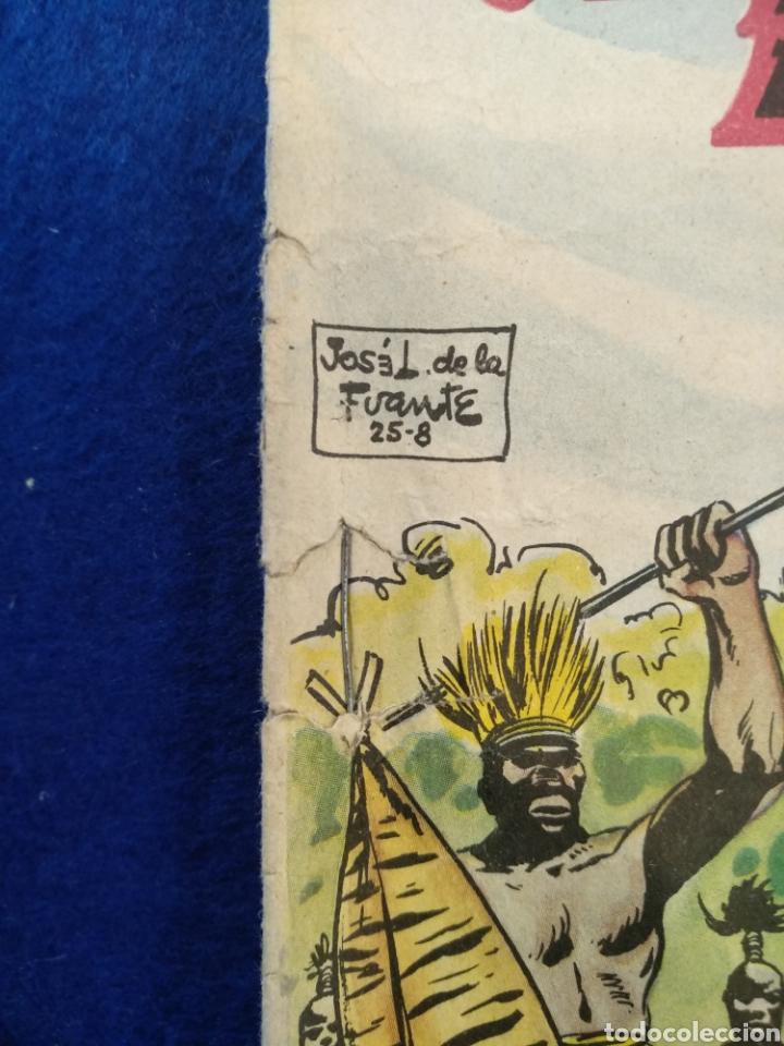 Tebeos: Colección héroes modernos, el hombre enmascarado, n°26. 1958 - Foto 6 - 176582724