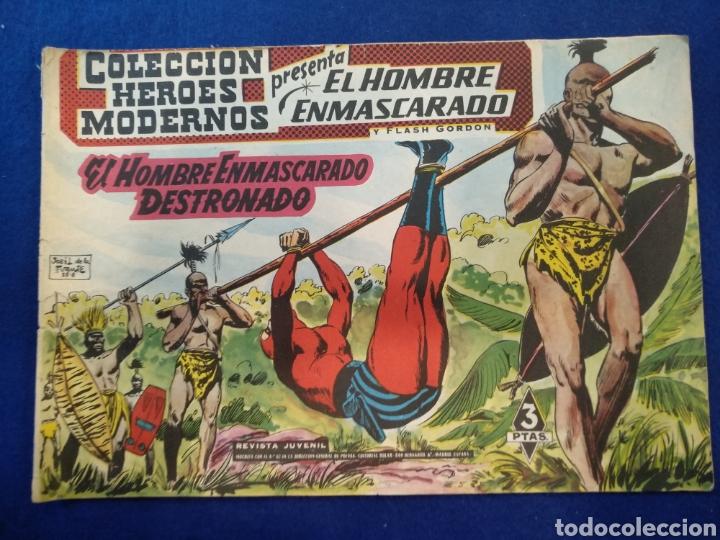 COLECCIÓN HÉROES MODERNOS, EL HOMBRE ENMASCARADO, N°26. 1958 (Tebeos y Comics - Dólar)