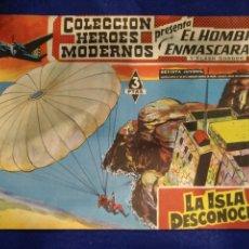 Tebeos: COLECCIÓN HÉROES MODERNOS, EL HOMBRE ENMASCARADO, N°35. 1958. Lote 176588170