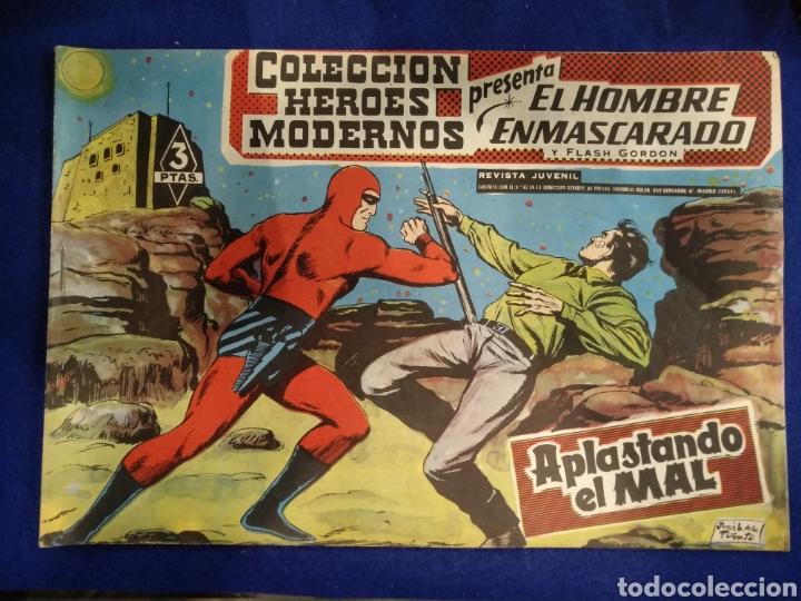 COLECCIÓN HÉROES MODERNOS, EL HOMBRE ENMASCARADO, N°36. 1958 (Tebeos y Comics - Dólar)