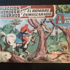 Tebeos: COLECCIÓN HÉROES MODERNOS, EL HOMBRE ENMASCARADO, N°41. 1958. Lote 176766283