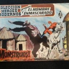 Livros de Banda Desenhada: COLECCIÓN HÉROES MODERNOS, EL HOMBRE ENMASCARADO, N°45. Lote 176768669