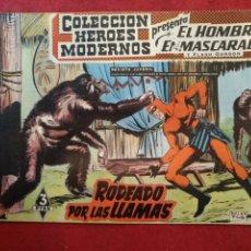 Livros de Banda Desenhada: COLECCIÓN HÉROES MODERNOS, EL HOMBRE ENMASCARADO, N°46. Lote 176848512