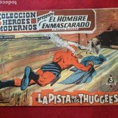 Tebeos: COLECCIÓN HÉROES MODERNOS, EL HOMBRE ENMASCARADO, N°49. Lote 176850352