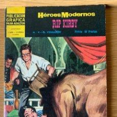 Tebeos: HEROES MODERNOS - RIP KIRBY - Nº 4. Lote 177057448
