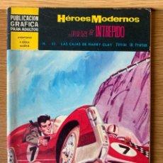 Tebeos: HEROES MODERNOS - JUAN EL INTRÉPIDO - Nº 35. Lote 221906528